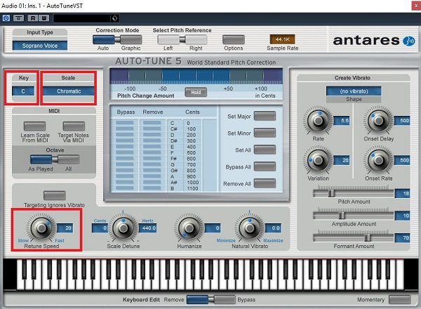 Auto tune - phần mềm tích hợp