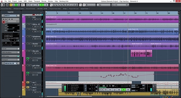 Cubase - phần mềm biên soạn nhạc phổ biến nhất hiện nay