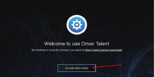 Tiến hành cài đặt Driver Talent