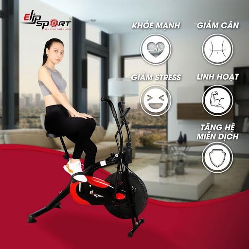 Xe đạp tập mang lại cho bạn những công dụng tuyệt vời nhất