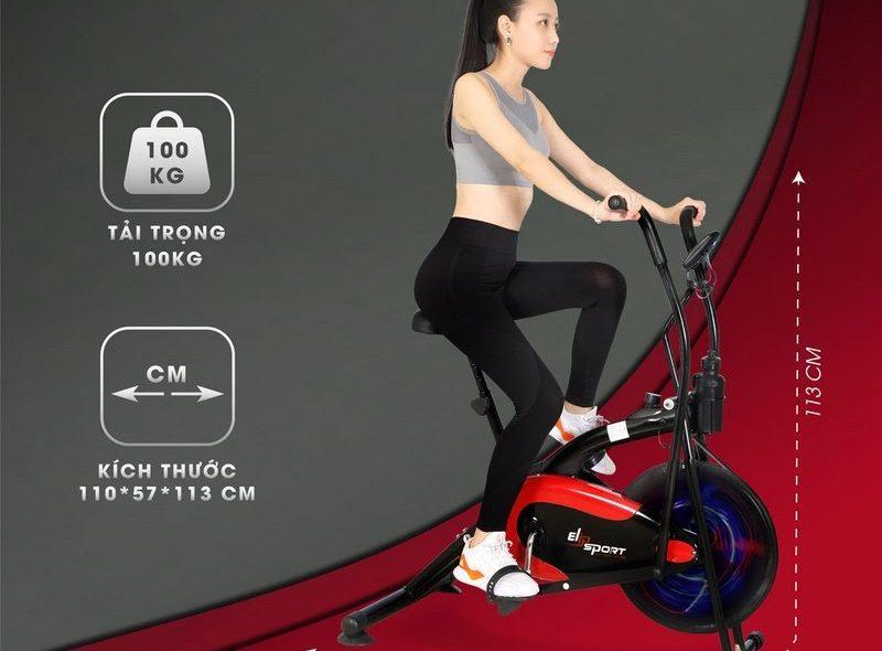 Xe đạp tập ELIP với độ bền bỉ chịu lực cao và an toàn cho người tập