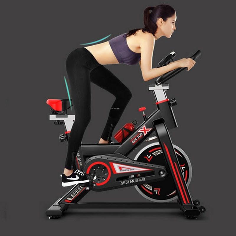 Sử dụng xe đạp tập thể dục hằng ngày để giảm mỡ bụng hiệu quả