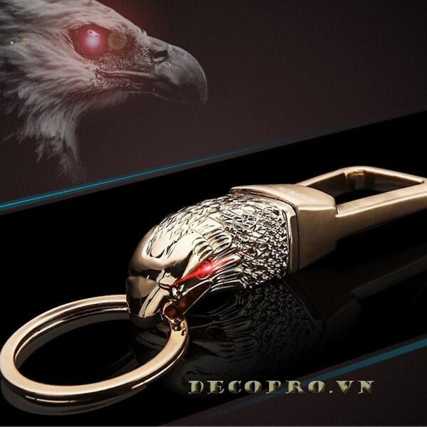 Móc khóa đẹp đầu chim ưng